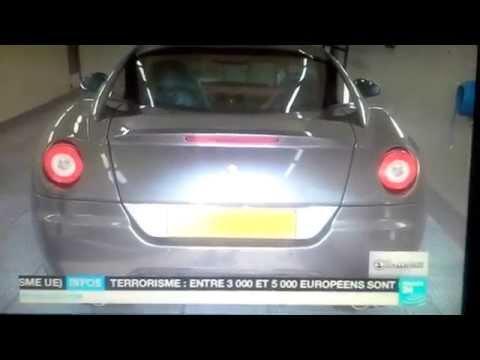 Les voitures de luxes d'Ali Bongo à la cité de la democratie
