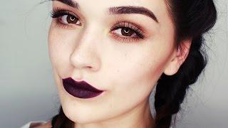 i ♥ dark lips   makeup tutorial