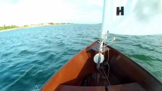 自作小型帆船ツバメ号 建造から2回目のセーリング
