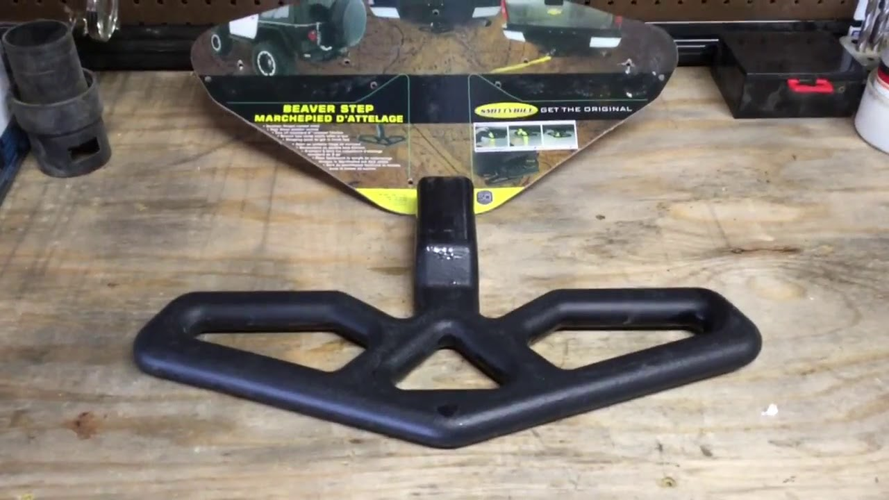 Smittybilt Beaver Step Trailer Hitch Step Product Review