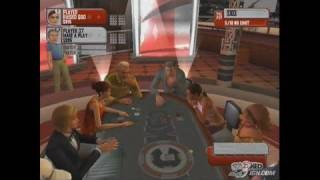 Stacked with Daniel Negreanu PlayStation 2 Gameplay - A -