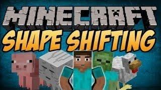 Скачать мод Shape Shifter Z для Minecraft 1.5.2