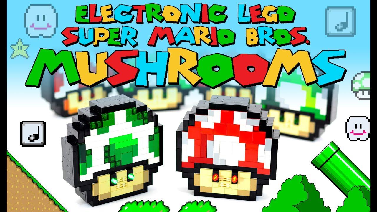Baron von Brunk's Website! » Electronic LEGO Super Mario Bros  Power-ups