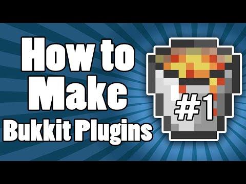 How To Make Bukkit Plugins: Your Very First Plugin! | Episode 1 | 1.8