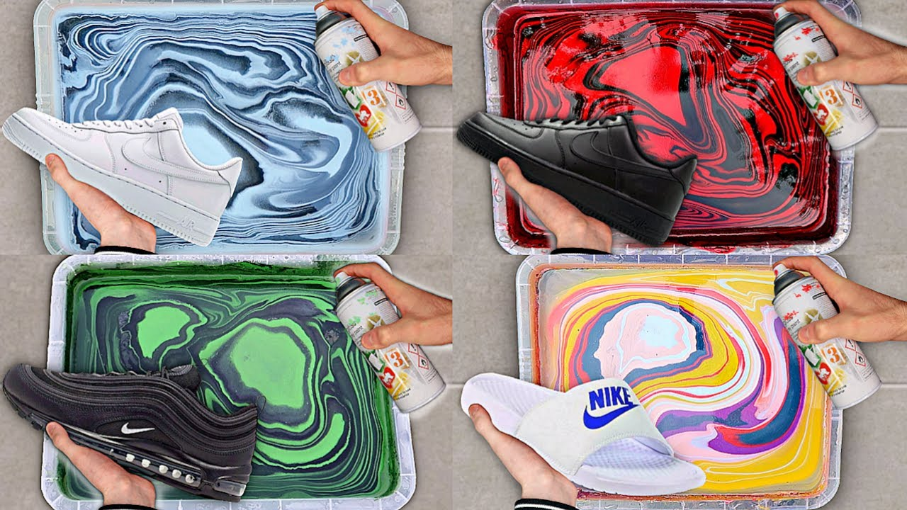 BEST of HYDRO DIPPING Videos Compilation 👟🎨 - YouTube
