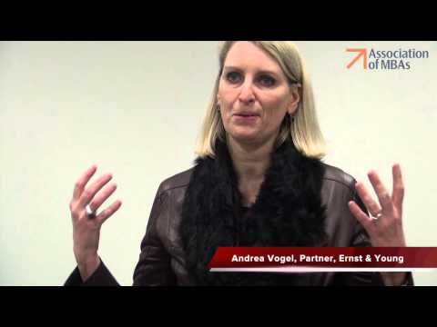 Andrea Vogel, Partner, Ernst & Young discusses her speech at the Global Leadership Conference 2014