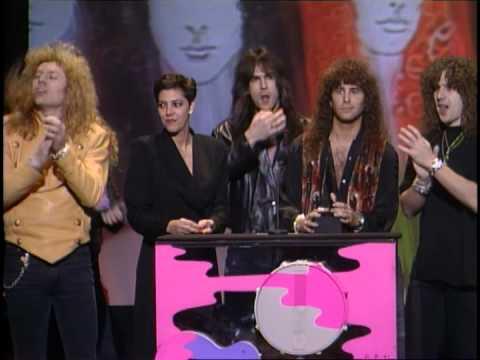 Firehouse Wins Favorite Heavy Metal/Hard Rock New Artist - AMA 1992