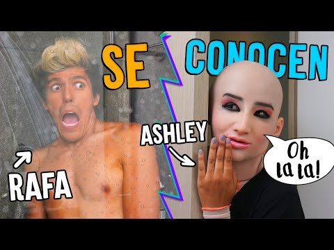 ASHLEY  Y RAFA SE CONOCEN | POLINESIOS VLOGS