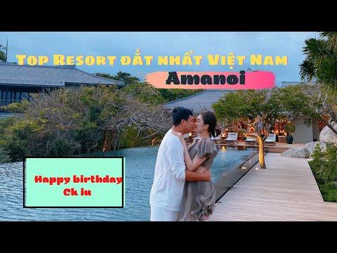 Chi gần 300tr/( 2 đêm) tổ chức sinh Nhật ck tại resort AMANOI, nơi nghĩ dưỡng đẳng cấp nhất Việt Nam