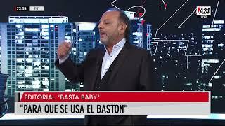 Editorial de Baby Etchecopar en Basta Baby (20/11/19)