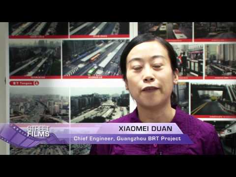 Guangzhou Bus Rapid Transit - March 2011