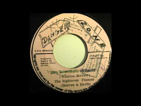 THE RIGHTEOUS FLAMES - Slaving In Babylon [1974]