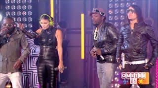Black Eyed Peas - Boom Boom Pow (Remastered) Live 2010 HD