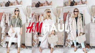 H&M Haul   CLASSIC PIECES YOU NEED IN YOUR WARDROBE