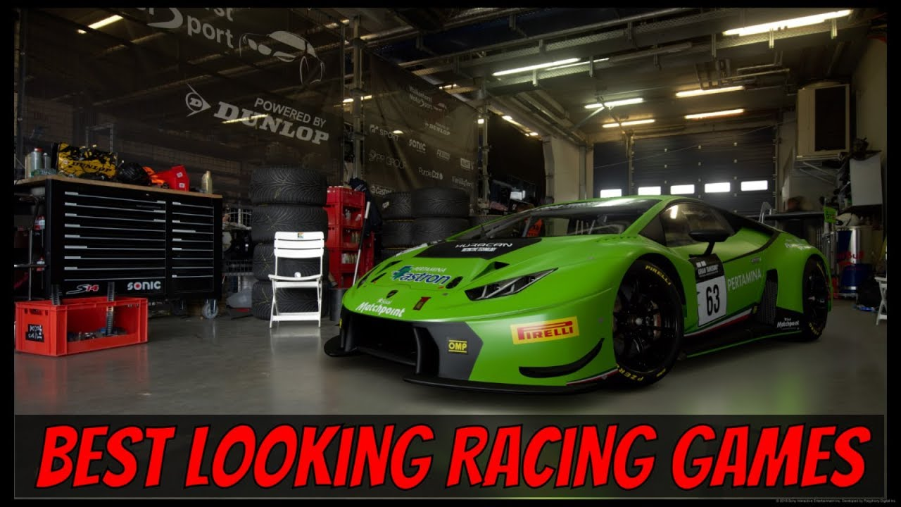 Repeat My 4 Best Looking Sim Racing Games (PC and Console