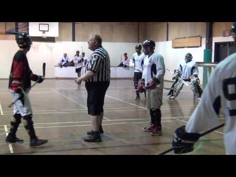 Pacific Jaguars vs. Surrey Crooks - Overtime (11/17/12) Ball Hockey Videos