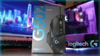 Logitech G502 Hero Unboxing