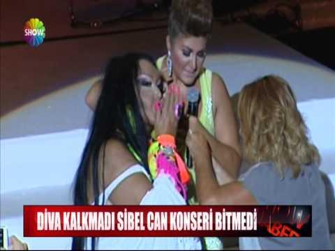 Diva kalkmadı Sibel Can konseri bitmedi