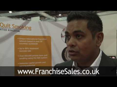 Health franchise opportunity, advice from I Quit Smoking franchise