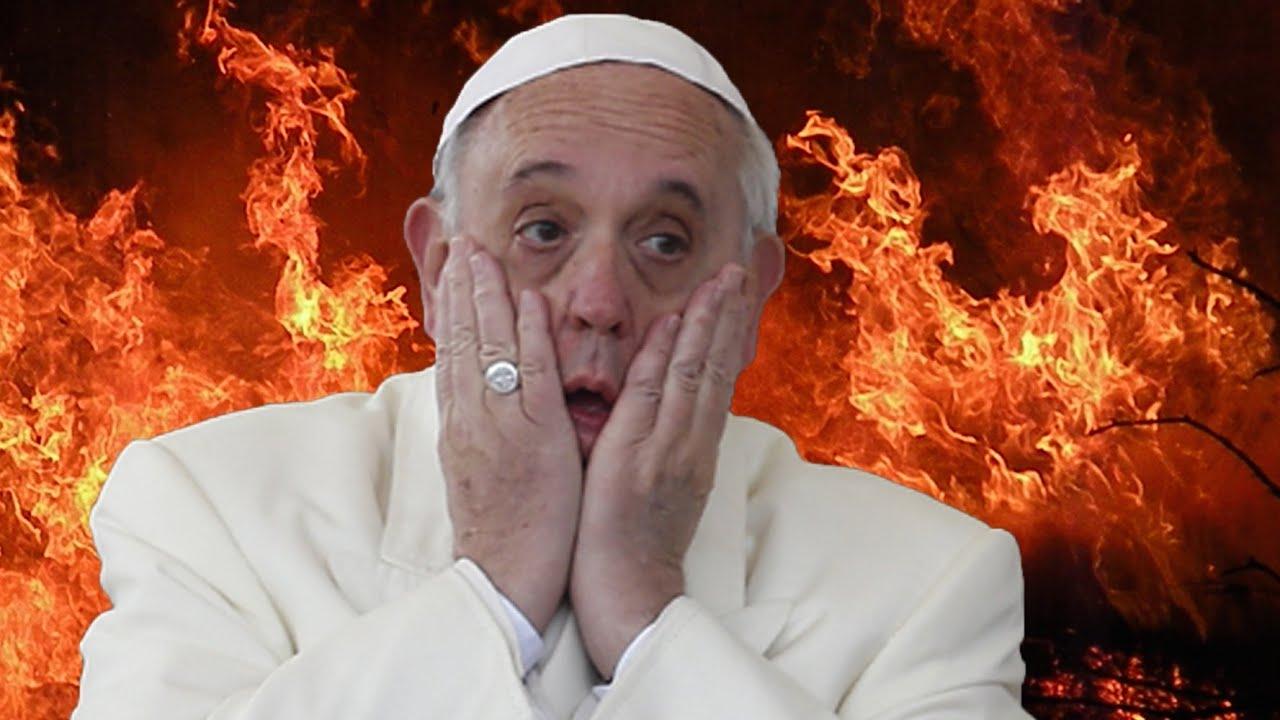 Resultado de imagem para POPE FRANCIS HELL