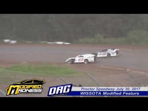 Proctor Speedway 7/30/17 WISSOTA Modified Feature Highlights