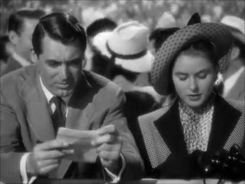 """NOTORIOUS [1946]. Alfred Hitchcock. """"Dry your eyes baby, it's out of character..."""""""