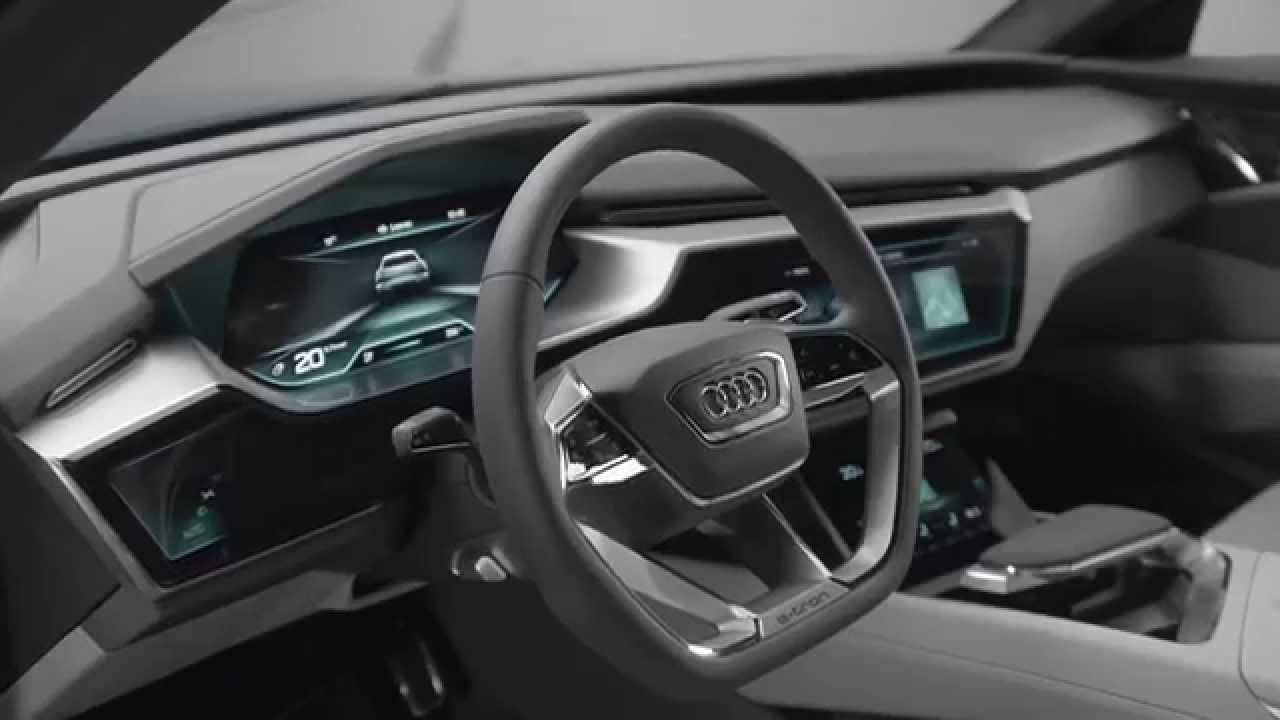 audi e tron quattro concept interior design trailer automototv youtube. Black Bedroom Furniture Sets. Home Design Ideas