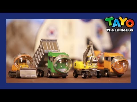 Tayo Strong heavy vehicles in space! l Tayo's Sing Along Show 1 l Tayo the Little Bus