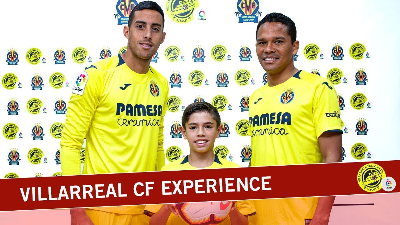 Ricardo lives the experience with Villarreal CF and LaLiga