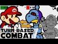 3 Designs for Turn Based Combat in Super