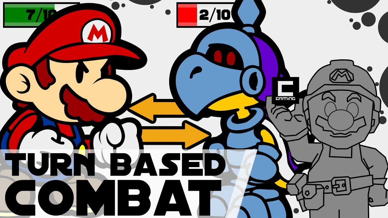 3 Designs for Turn Based Combat in Super Mario Maker