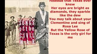 Mitch Miller Orchestra  The Yellow Rose Of Texas  lyrics