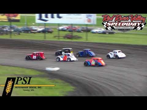 Red River Valley Speedway INEX Legends Heats (6/8/18)