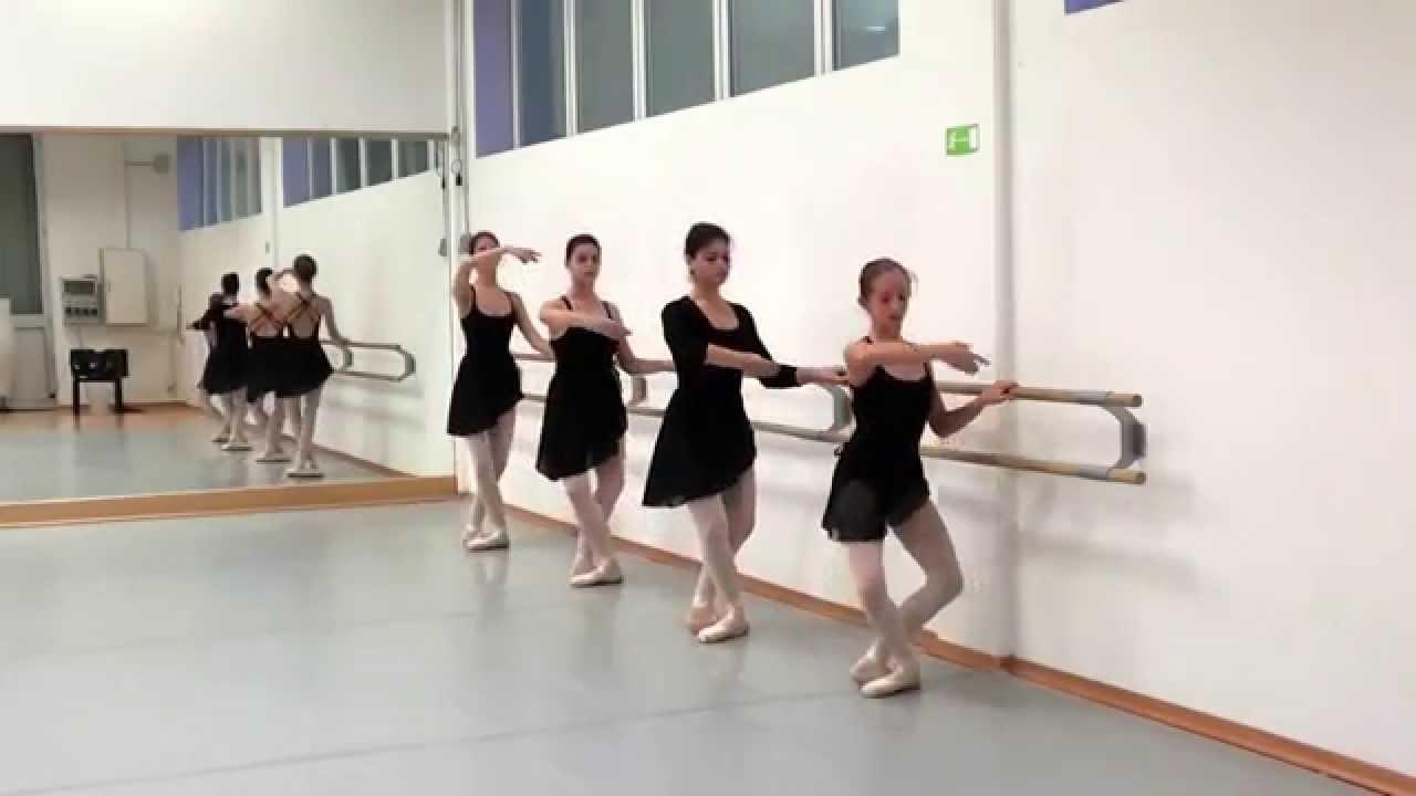 Lezione di danza Classica - Pliés - YouTube 84188ee4d