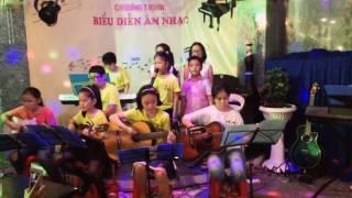 Tiếng chuông và ngọn cờ - Linh Bui guitar nhóm