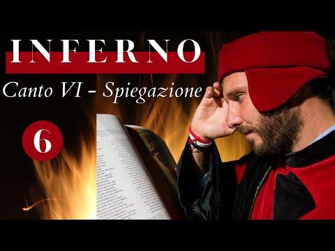 Inferno Canto VI - Divina Commedia - Spiegazione