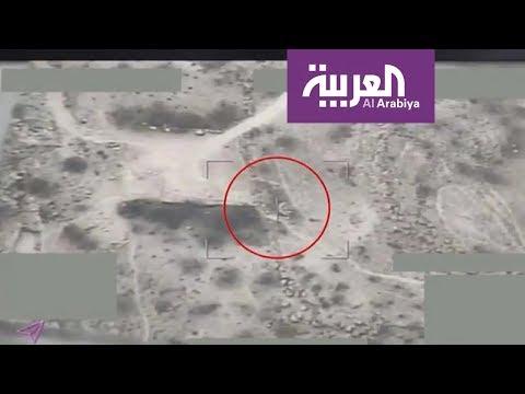 فيديو يوثق استهداف التحالف مواقع الحوثيين في مديرية كشر  - نشر قبل 2 ساعة