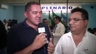 Luiz Aldir expressou satisfação ao ser agraciado com a cidadania Quixereense