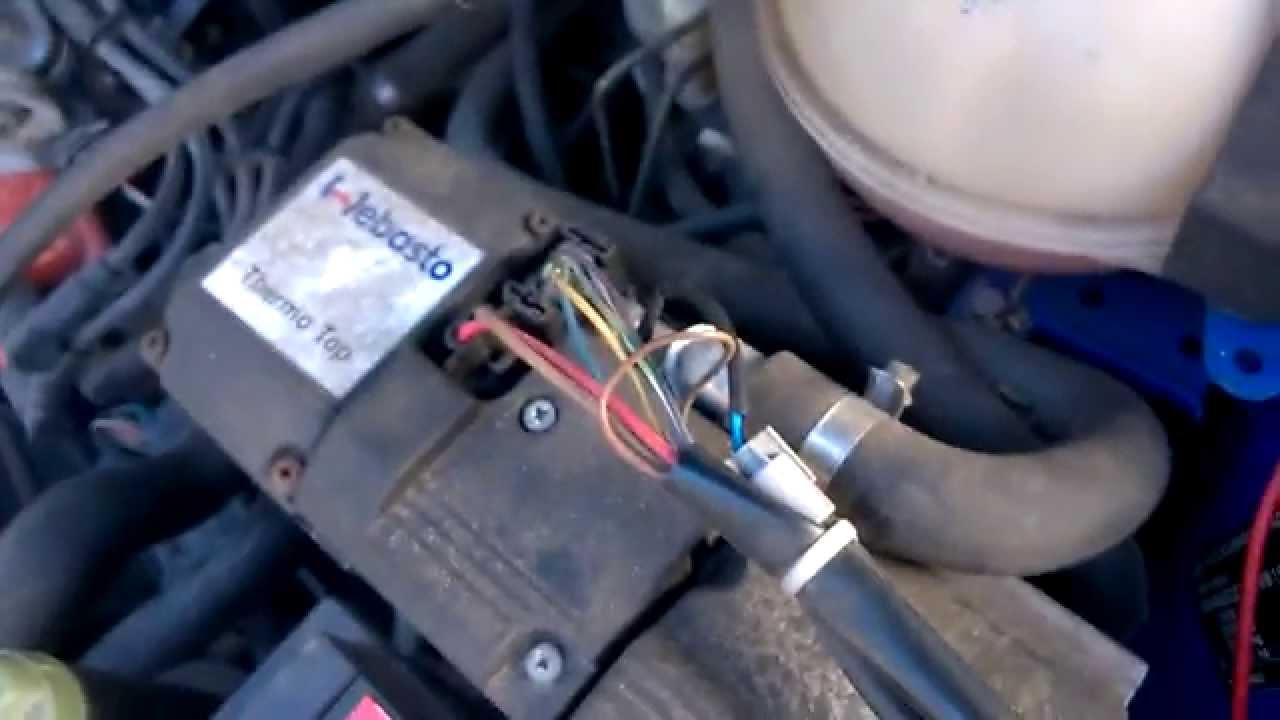Manual Reset Wiring Diagram Webasto Bw50 Start Nach Reset Youtube