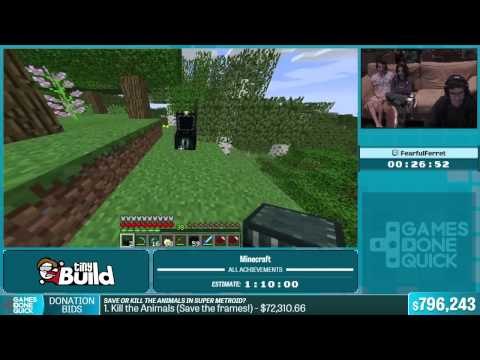 Minecraft by FearfulFerret in 1:14:34 - Summer Games Done Quick 2015 - Part 148