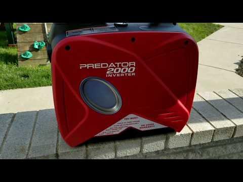 Harbor Freight Predator 2000 Watt Inverter Generator Part 2 - Overview and Inside