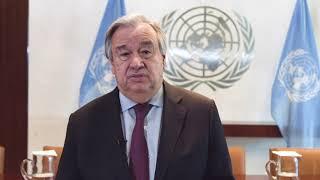 Exclusivo: Em português, secretário-geral da ONU dirige-se a Moçambique após ciclone.