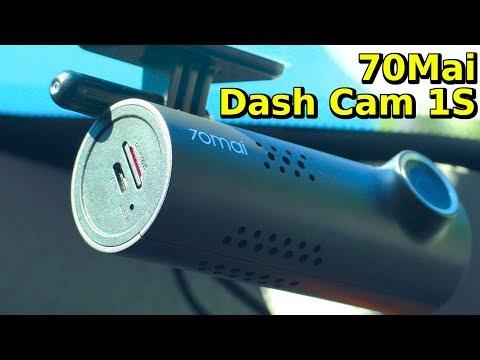 ОБНОВЛЕННЫЙ РЕГИСТРАТОР БЕЗ ЭКРАНА 70MAI Dash Cam 1S из Китая