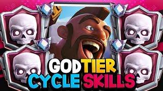 GOD TIER HOG CYCLE SKILLS | 7,500+ TROPHIES
