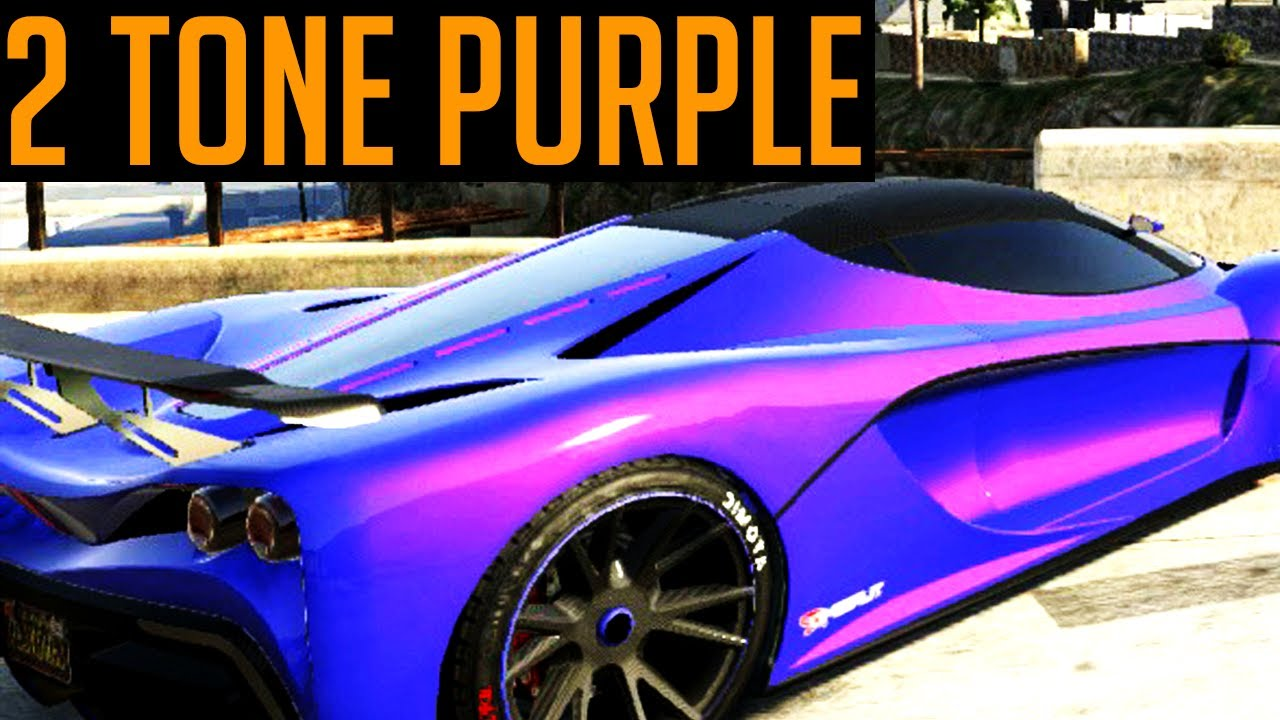GTA 5 Modded Paint Job - Nice GTA 5 Modded Paint Job - YouTube