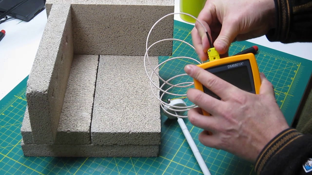 How To Wire A High Temperature K Type Thermocouple For Your Kiln Wiring Furnace Or Forge