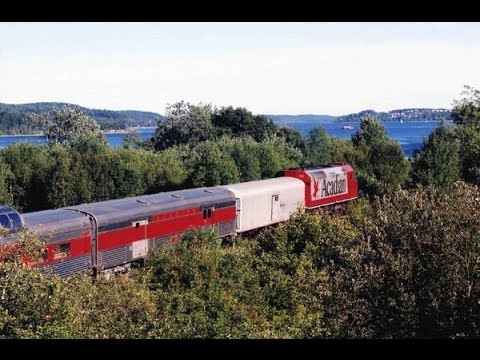 Acadian tourist train Vanceboro to Saint John NB & back 27-28 August 2002