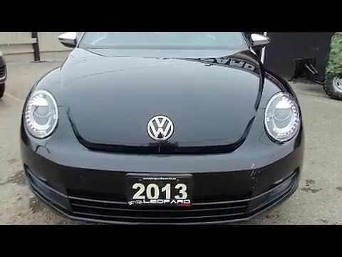Used 2013 Volkswagen Beetle Black For Sale Mississauga ON