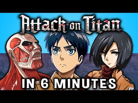 ATTACK ON TITAN IN 6 MINUTES! (Season 1)