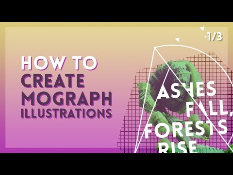 Easy Motion Graphics Illustration Techniques [1/3] | After Effects Tutorial thumbnail